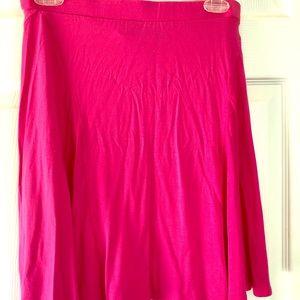 Cynthia Rowley pink flow skirt